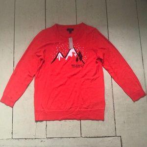 NWT j crew Tippi Chamonix sweater szM 100% merino